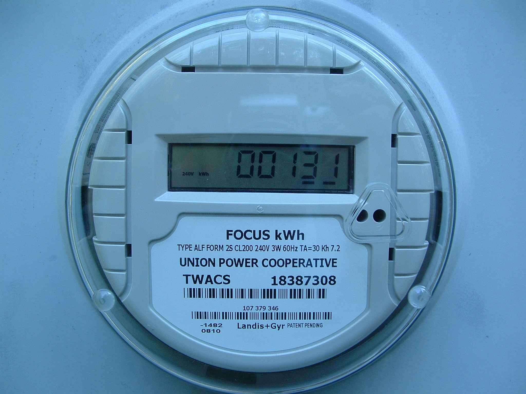 Electric Meter Data : Lowfer ac utility meter data signal
